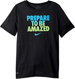 Nike Kids Dry Prepare To Be Amazed Training Tee (Little Kids/Big Kids)