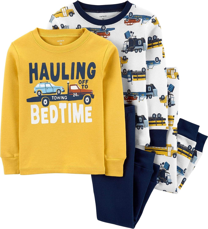 Carter's Baby Boy's 4 Pc Snug Fit Pajamas