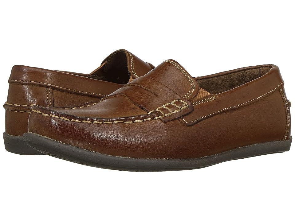 Florsheim Kids Jasper Driver Jr. (Toddler/Little Kid/Big Kid) (Saddle Tan) Boys Shoes
