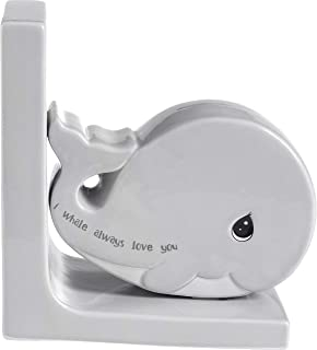 Precious Moments I Whale Always Love You Whale Ceramic Bookend 189918