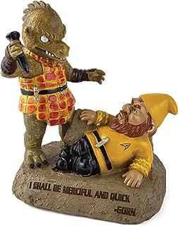 "BigMouth Inc. Star Trek Gorn Garden Gnome – Funny Garden Gnome with Star Trek Theme, Makes a Great Gag Gift, Weatherproof Ceramic Lawn Gnome, 9"" Tall"
