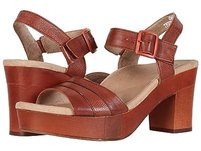 Earth Chestnut (Terra Cotta Soft Calf) High Heels