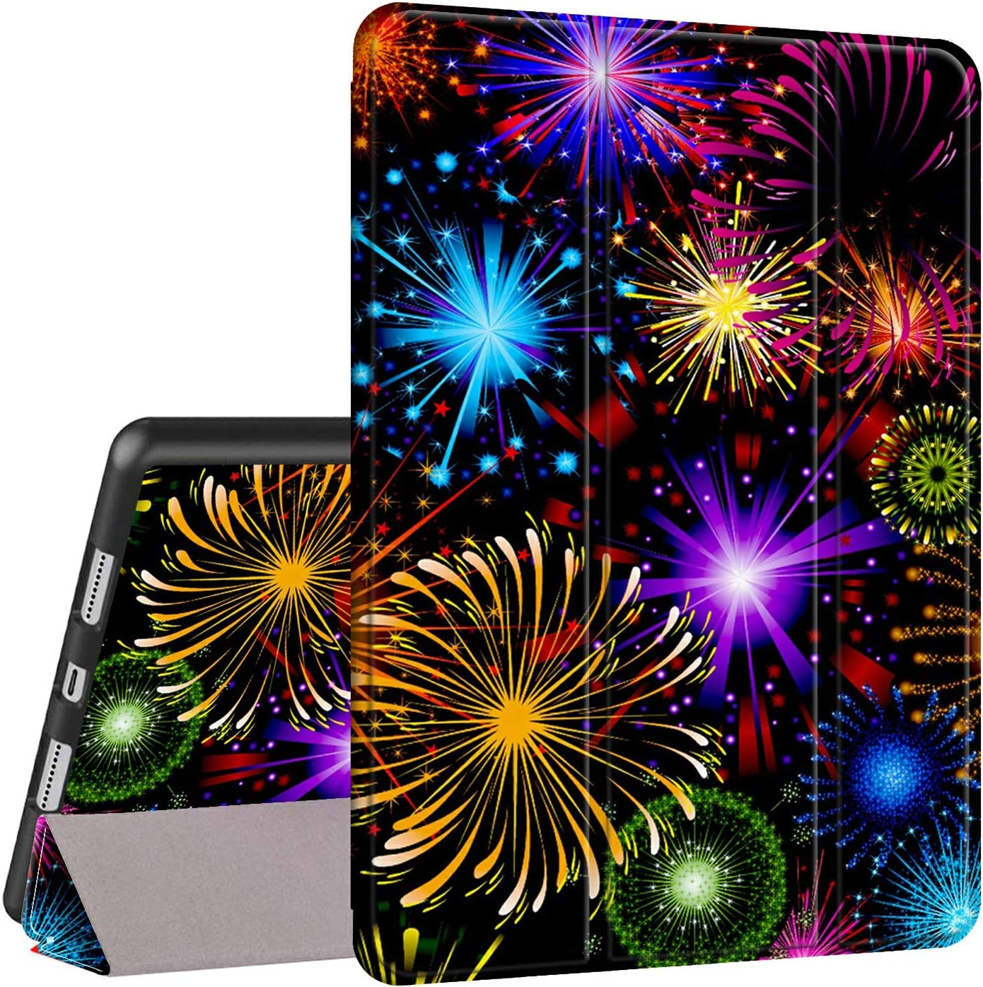 store iPad Pro 11 Case 2018 Rossy Foli Shock Raleigh Mall PU Trifold Leather Stand
