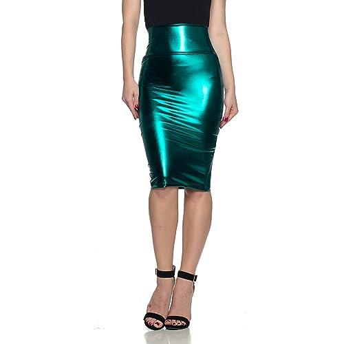 Plus Size Pencil Skirt]: Amazon.com