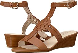 Findra Woven Slide Wedge Sandal