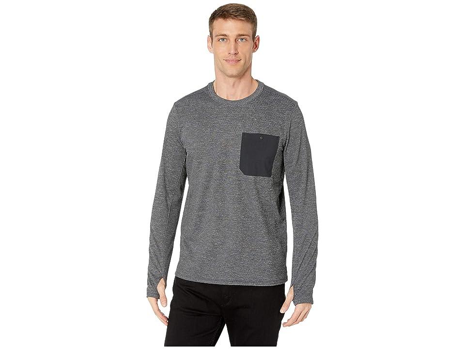Mountain Hardwear Mainframe Crew Long Sleeve Shirt (Shark) Men