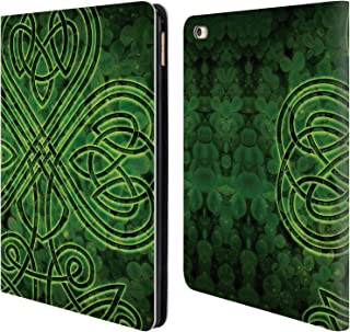 Official Brigid Ashwood Irish Shamrock Celtic Wisdom 3 Leather Book Wallet Case Cover Compatible for iPad Air 2 (2014)