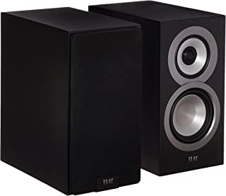 Best Elac Uni-FI UB5 Slim Bookshelf Speaker (Finished Satin Black Cabinet, Pair) Review