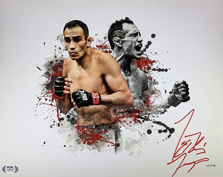Tony Ferguson autographed signed inscribed UFC Very popular Mail order El 11x14 Cu photo