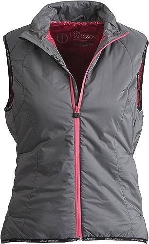 Osvoiture Jacobson pour femme Svoiturelet Primaloft Gilet gris rose vif Coupez Différentes tailles