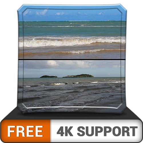 Kostenlose romantische Welle HD - dekorieren Sie Ihr Zimmer mit einer wunderschönen Landschaft auf Ihrem HDR 4K-Fernseher, 8K-Fernseher und Feuergeräten als Hintergrundbild, Dekoration für die Weihnac