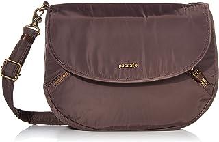 Pacsafe Damen Stylesafe 4L Anti Theft Crossbody Bag Kuriertasche, Mokka