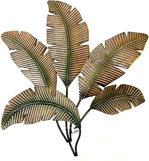Best metal leaf wall sculpture Reviews