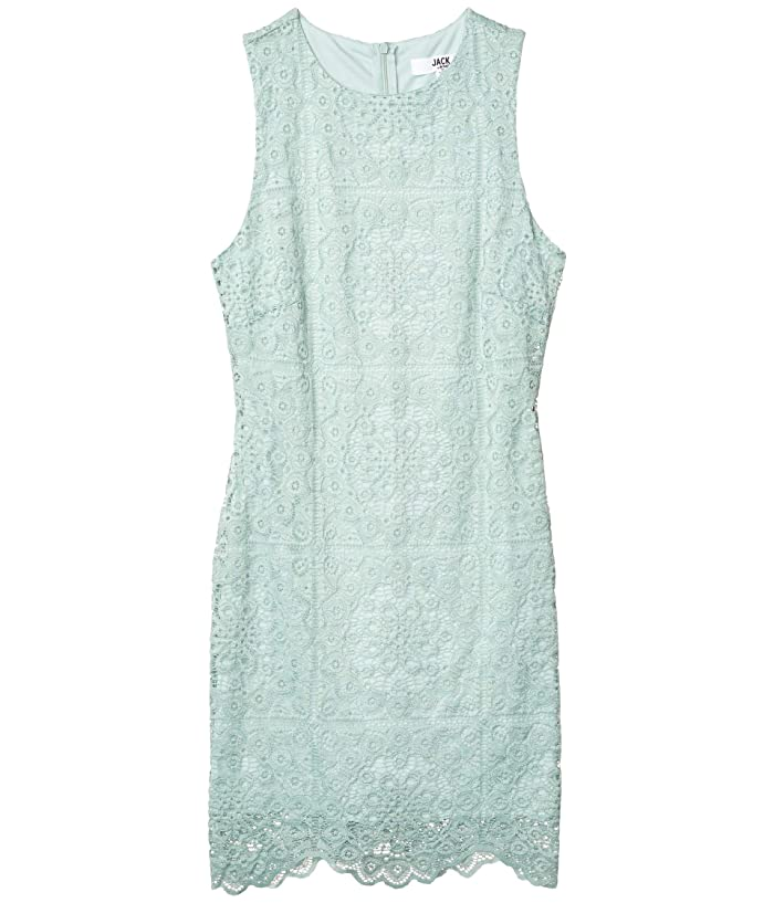 Ace Of Lace stretch Lace Dress Mint