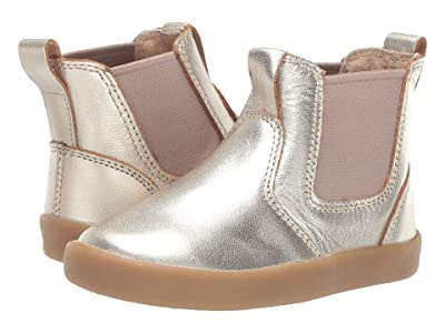 Old Soles Click Boot (Toddler/Little Kid) (Gold) Girl