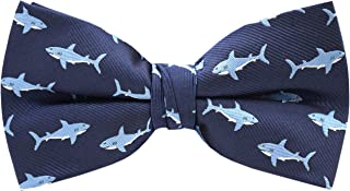 Carahere Mens Bow Ties Handmade Pre-Tied Pattern Bow Ties For Men