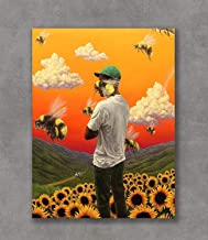E-02 Tyler the Creator Flower Boy Cover Rap Music Album Fabric Poster Print