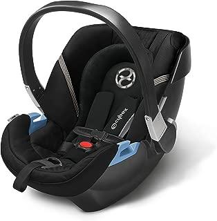 CYBEX Aton 2 Infant Car Seat, Black Beauty