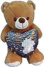 RICH IDEAS Flip-dee-doo Teddy Bear with Rainbow Heart