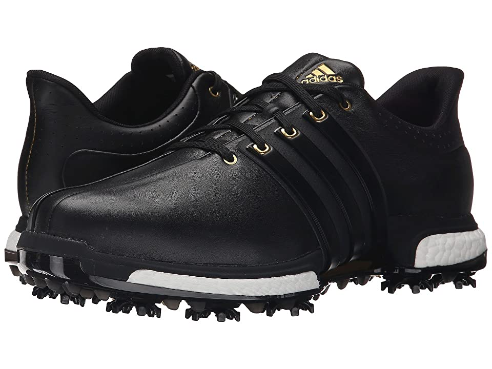 adidas Golf Tour360 (Core Black/Core Black/Gold Metallic) Men