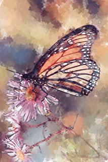 Monarch Butterfly  Watercolor Journal: Take Notes, Write Down Memories in this 150 Page Lined Journal