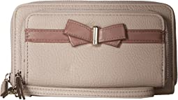 Linea Double Zip Wallet
