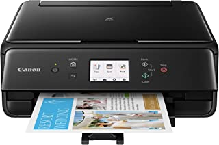 Canon TS6120 Wireless All-In-One Printer with Scanner and Copier: Mobile and Tablet Printing, with Airprint(TM) and Google Cloud Print compatible, Black