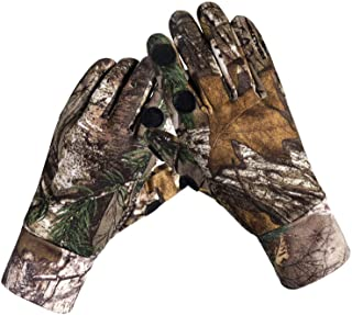 Camouflage Hunting Gloves Full Finger/Fingerless Gloves...