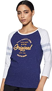 Ajile By Pantaloons Women's Regular Fit T-Shirt