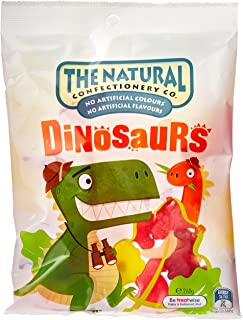 The Natural Confectionery Company Dinosaur Shaped Jellies, 18 x 260 Grams