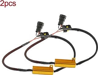 2Pcs Innovited 9006 HB4 LED Resistor 50W 6ohm Load Resistors Canbus Fix LED Bulb Error Code
