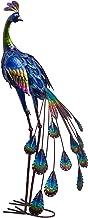 ترسا مجموعه '35' 'دکوراسیون تزئینی بافت طاووس ایستاده باغ دکور مجسمه سازی باغ، مجسمه باغ مجسمه سازی خانه در فضای باز برای حیاط پشتی فرش خانه Patio دکوراسیون چمن