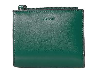 Lodis Accessories Audrey RFID Aldis Wallet (Ivy/Deep Plum) Wallet Handbags