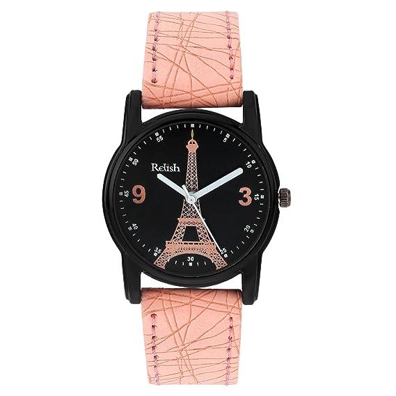 Relish Analogue Women's   Girl's Watch  Black Dial  Wrist Watches