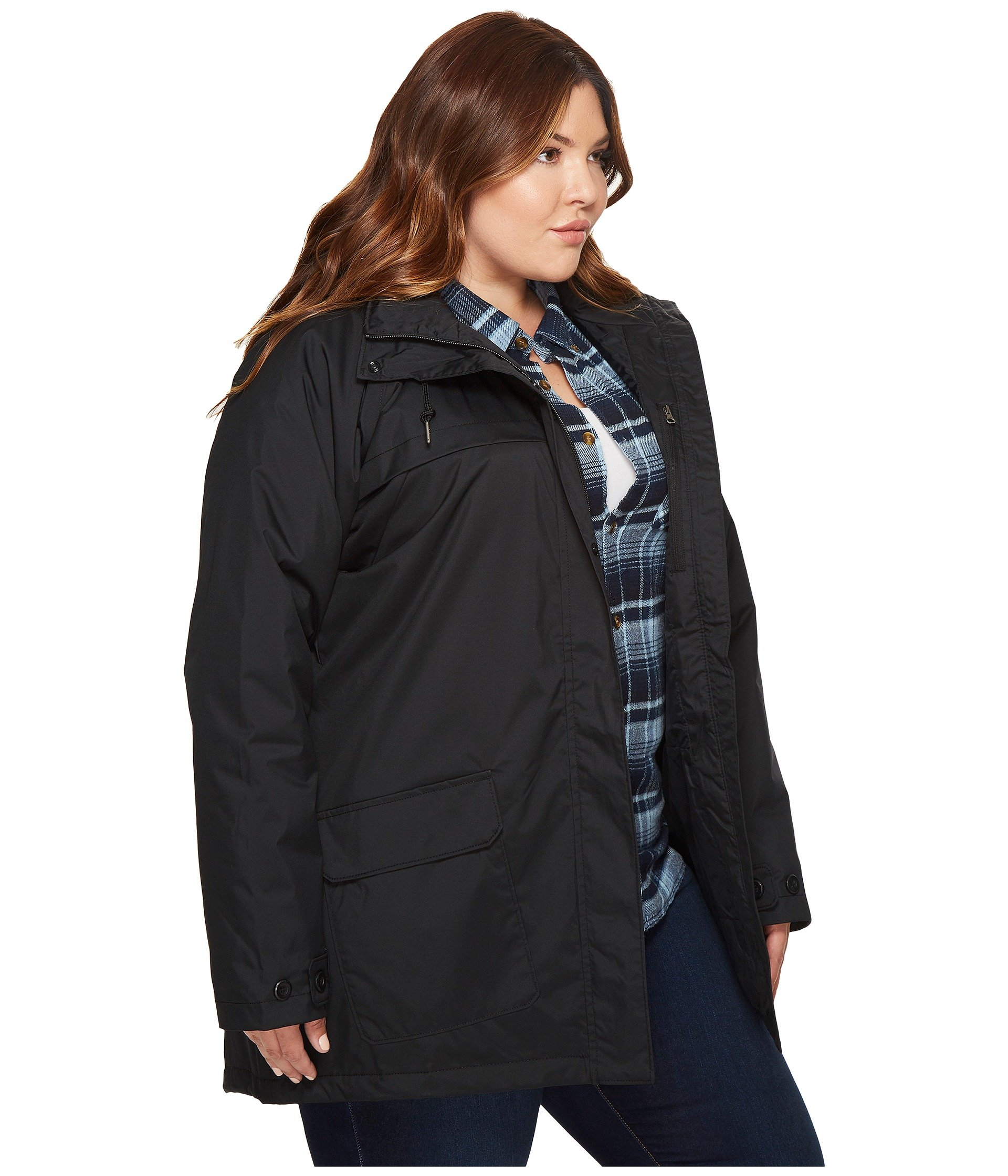 Columbia Plus Size Lookout Crest Jacket at Zappos.com