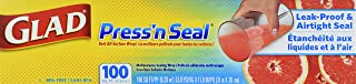 Glad Sealable Plastic Wrap Press'n Seal with Griptex, 100 sq ft 33.8YD x 11.8IN