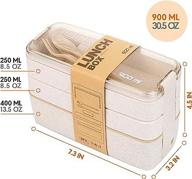 Lunch Box 900 ml Beige