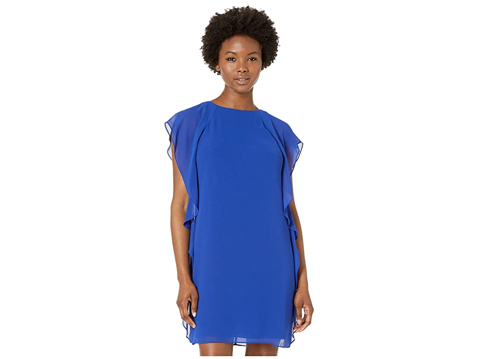 LAUREN Ralph Lauren Petite Olokun Dress (Rugby Royal) Women
