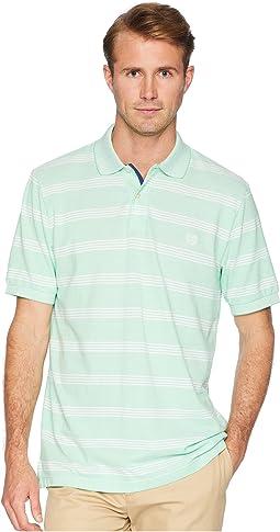 Short Sleeve Stripe Birsdeye Polo