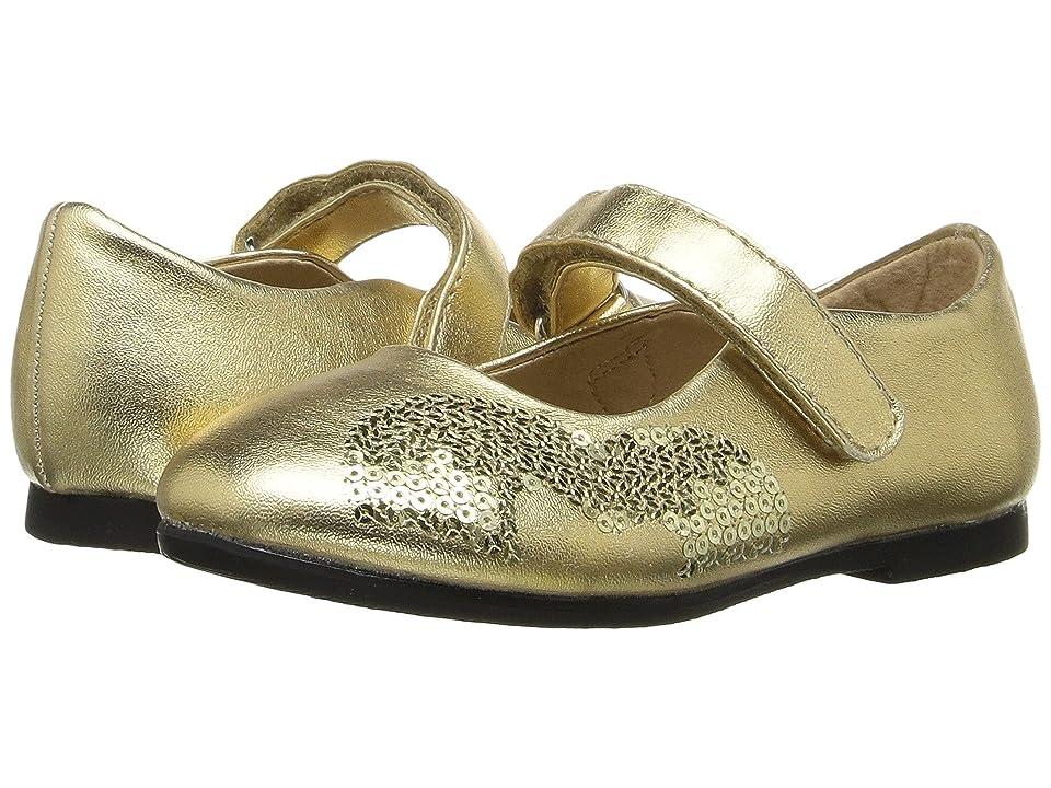 W6YZ Shea (Toddler/Little Kid) (Gold) Girls Shoes