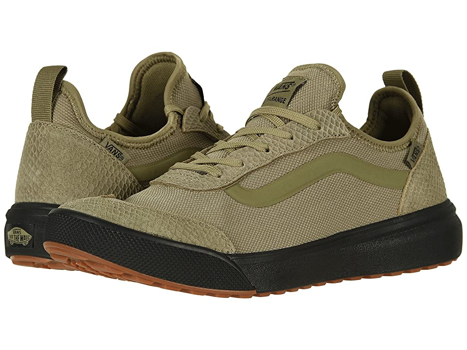 Vans UltraRange AC ((Reptile) Covert Green/Black) Skate Shoes