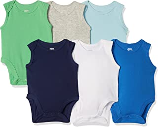Amazon Essentials 6-Pack Sleeveless Bodysuits Mixte bébé