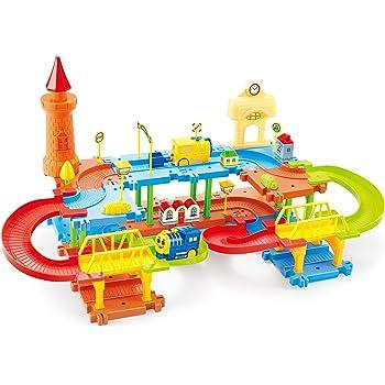 Webby Educational Kids Building Block Train Set 45 Pcs
