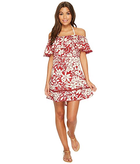 Red Cover Shanghai Carter Up the Dress Off Shoulder rTpr5xYwq
