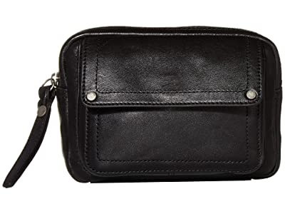 Frye Gia Belt Bag (Black) Bags