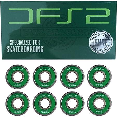 オーエムジー(OMG!) DFS2 BEARINGS SBG540 ABEC7 フィズ スケートボード (スケボー) ベアリング 《8個1セット》 グリーン