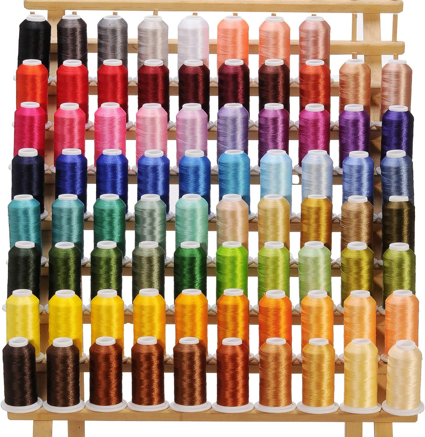 80 Spools Genuine Embroidery Ranking TOP16 Sewing Machine Thread 120D Polyester 2 40we