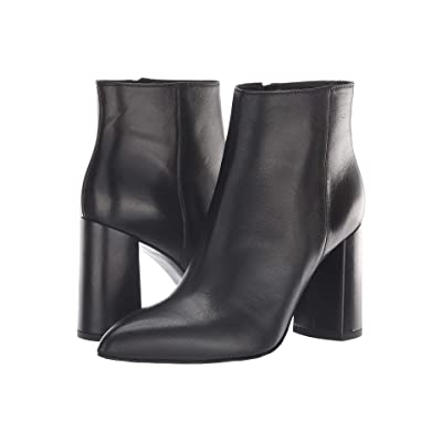 Summit by White Mountain Lindsey Bootie (Black Leather) Women