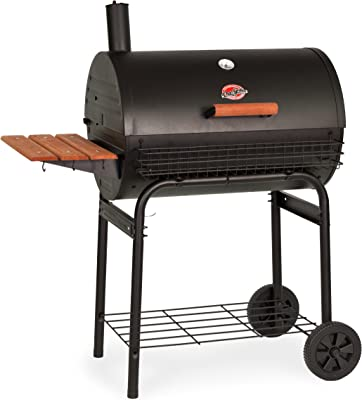 Char-Griller E2828 Pro Deluxe Charcoal Grill, Black