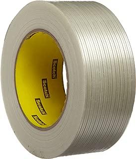 Scotch Filament Tape 897, Clear, 48 mm x 55 m, 5 mil